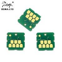 BOMA.LTD Mantenimiento chip para T04D0 C13T04D000 L7160 L7180 ET-7700 ET-7750 Residuos de mantenimiento de tinta del cartucho tanque depósito de desechos