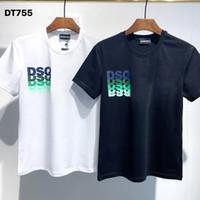 DSQ PHANTOM TURTLE 2020SS New Mens Designer T shirt Italy fashion Tshirts Summer Men DSQ T-shirt Male Top Quality 100% Cotton Top 3997