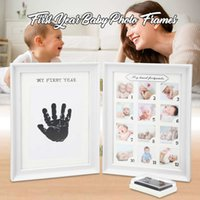 Мой первый год подарок ребенка дети день рождения подарок дома украшения семьи украшения 12 месяцев фото рамка с ремеслом чернил T191231