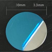 Universale Ultra Slim Specchio rotondo superficie della piastra disco magnetico lamiera di ferro per auto Mount Magnet Holder stand Phone