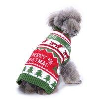 Cross-Border animale domestico copre maglione a righe Ossa dolcevita vestiti del cane maglione di Natale neve Kuan Cane Autunno e Inverno