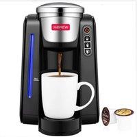 Hibrew Capsule Machine K-Cup Brewer; Kcup cingle copo cafeteira com leite crother para casa