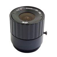 "Lens JienUo IR CCTV Camera 4mm CS 3MP per telecamere di sicurezza HD F2.0 Formato immagine 1 / 2.5 """