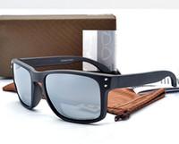 hombre de gafas de sol polarizadas Gafas de sol Gafas de sol de Holbrook moda para los hombres al aire libre a prueba de viento Gafas OK9102 con la caja KB0824