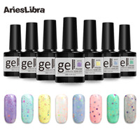 AriesLibra Käse Gel Lack 10ml Long Lasting Nail Art Gel Polish Maniküre LED-UV-Nagellacke Lack Top Base Coat Kleber