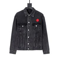 바 리 히 가 재킷 남성 재킷 남자 여자 쌍 스타일의 진 재킷 패션 겨울 코트 커플 인쇄 자켓 캐주얼 코트 패션 남성 코디 재킷 착실히 보내다