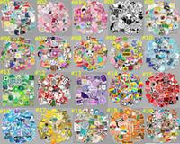 ملصقات الدفتري 50PCS الكرتون بيربل VSCO لطيف الطازجة الصغيرة ملصقات بولي كلوريد الفينيل للماء الكتابة على الجدران ديكور حقيبة جيتار