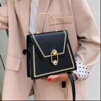 New Fashion Metal Handle Handbags Women Crossbody Bags 2020 ...