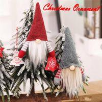 Рождество ручной Скандинавский НИССЕ Санта Nisse Плюшевые игрушки Таблица Украшение Xmas Tree украшения