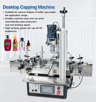 Ropp bomba pneumática Vial desktop automática do parafuso máquinas de nivelamento spray tampa do frasco de vidro Parafuso Perfume de plástico PET