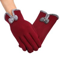 خمسة أصابع قفازات أزياء الشتاء شاشة اللمس النساء الرجال الدافئة الفضة الكامل القطن القطن الرياضة في الهواء الطلق luvas