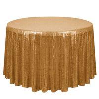 Mode Sequin Tischdecke Online Shopping Hochzeit Tischdekorationen 14 Farben-runde Tischdecken BH18035