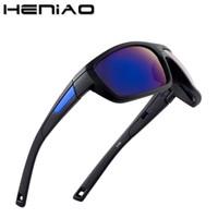 Sunglasses HENIAO 2021 Sun Glasses Men Top Quality Male Sport Eyewear Brand Design UV400 HD Men's Oculos