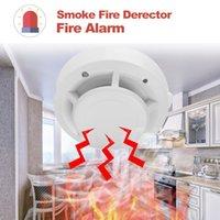 Akıllı Bağımsız Tipi Alarm Duman Yangın Duyarlı Dedektör Ev Güvenlik Kablosuz Alarm Duman Dedektörü Sensörü Yangın Ekipmanları
