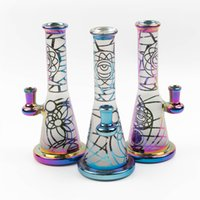 Recycler bongs swirls bong vortex water pipes heady glass pi...