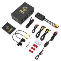 Kits AyellowroSock HD 2CH Moto DVR DVR Vidéo Vidéo Étanche Enregistrement de la boucle Enregistrement de voitures WiFi avec Dual Ahd Cameras Rains
