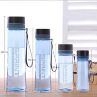 زجاجة مصنع توريد الغذاء الصف الآمن المياه البلاستيكية الكبار الطلاب عداء ببطء الرياضة شرب عصير زجاجة المياه البلاستيكية الفضاء