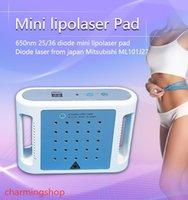 Professionale 5 * 5 Mini uso domestico portatile Riduzione del grasso veloce 36pcs Lipo Laser Mitsubishi Diodi Lipolaser Macchina dimagrante