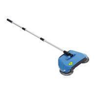 Hand Push-Kehrmaschinen Edelstahl Wehrmaschinenart Besen Kustopan Griff Haushaltsreinigungspaket Kehrmaschine Mop Blau