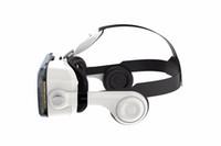 을 Freeshipping VR 가상 현실 3D 안경 VR 헤드셋 VR 헬멧 판지 보보 박스 및 블루투스 컨트롤러
