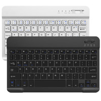 Tastiera blu universale portatile per 7 8 9 da 10,1 pollici TBABALET PC Desktop Laptop portatile portatile Slim Slim wireless tastiera wireless