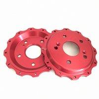 Jekit tapa central de aluminio 6 agujeros para el deporte pajero 2014 frontal 355 rotores de freno de 32 mm * 0ILO #