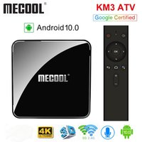 MECOOL KM3 ATV Androidtv Google Certified Android 10 TV Box ...