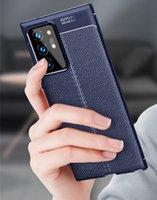 Antichocs Téléphone cas pour Samsung Galaxy Note 20 Ultra de protection en silicone TPU Housse en cuir pour Samsung Note 20 Couverture