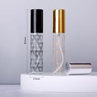 100PCS / Lot 10ml di vetro libera dell'atomizzatore bottiglia punti colorati in alluminio tappo della bottiglia di profumo dello spruzzo Bottiglie di viaggio container