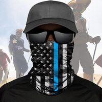 ABD Stok ABD Bayrağı DHL Eşarp bandanas Günü Boyun Maskeleri Sihirli Motosiklet Bisiklet Yarım Yüz Kafa Çoklu Bisiklet Eşarp bandanalar Balıkçılık Maske