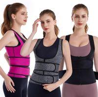 US-Aktien 3-3XL Plus Size Frauen-justierbare elastische Taillen-Stützgürtel Neopren Faja lumbalen Rücken Sweat Gürtel Fitness-Gurt-Taillen Trainer Heuptas