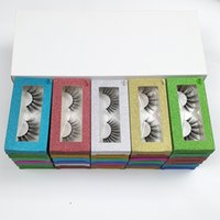 3D mink eyelashes Wholesale 10 Style natural long false eyel...