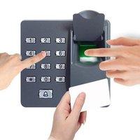 Contrôle d'accès d'empreintes digitales 500 Carte d'identité utilisateur Mot de passe Contrôle du système d'entrée du clavier mini clavier