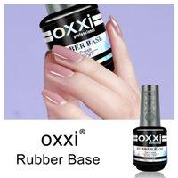 OXXI гель лак для ногтей Толстые резиновая основа и Top Coat Маникюр Hybrid Gel Лаки для ногтей UV полупостоянными Gellak 15 мл лака