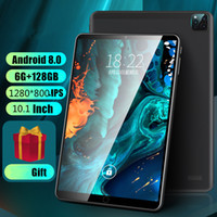 2021 neue Android 9.0 Tablet 10.1 Zoll 6 GB + 128 GB HD IPS-Schirm WiFi GPS Medien Pad 4G Anruf Tablet PC phablet Youtube