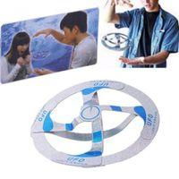 Mystery Kinder Untertasse fliegt Amazing Magic disk Trick UFO Spielzeug Geschenk Kühle Kinder Flocating Creative Games ABC2007 PBETP