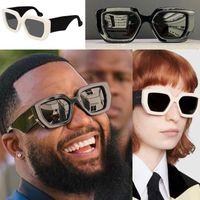 Nuovo disegno di modo occhiali da sole GG0630 / S di alta qualità 001 spessa cornice piastra quadrata stile uv400 occhiali protettivi con scatola originale