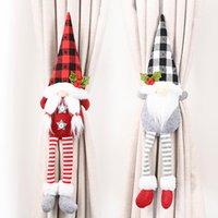 15 Cortina de Navidad Estilo hebilla de Tieback de Santa muñeco de nieve del Holdback sujetador hebilla de abrazadera decoraciones de Navidad Adornos OOA9699