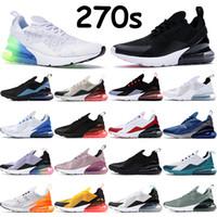 Erkek Kadın Koşu Ayakkabıları 270s Sneakers Üçlü Zeytin Siyah Sıcak Yumruk Regency Mor Ruh Mor Teal Beyaz Üniversitesi Kırmızı Kadın Sneakers