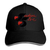 Beyzbol Nefes Mesh Snapback kadınlar Hip Hop kapağı için Unisex güneş şapka kapakları Jackson 5 erkekleri Caps