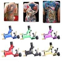 Pas cher Dragonfly Rotary machine shader et doublure machine de tatouage nouvel artiste moteur Doublure Kit DHL Freeshipping coloré