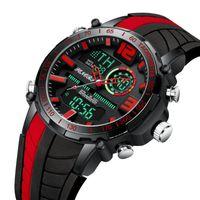 Saatı Senatörler Spor İzle Erkekler Ünlü LED Dijital Saatler Erkek Saatler Erkek Relojes Deportivos Herren Uhren Reloj Homme 2021