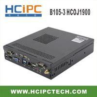 HCIPC B105-3 HCOJ1900, J1900 Mini Box PC, J1900 Mini Barebone, компьютер J1900, промышленные ПК, J1900 ITX материнская плата