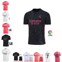 2020 Real Madrid Soccer Jersey maison loin chemise RISQUE soccer adulte ASENSIO CITP MARCELO madrid 20 21 Adulte Homme Femmes Chemises Football 16 XXL