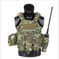 Support de taille Krydex Tactical Vest LBT6094A Coque Cartouche Walkie Talkie Sac Accessoire MC Couleur Molle