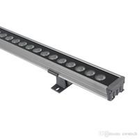 24W LED Wall Washer, luz de tira linear de 6000k, luz de tira LED 24V, IP65 à prova d'água à prova d'água LED Wall Washer Lights