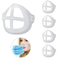 3D Mask держатель Поддержка Дыхательные Assist Помощь Рот маска Внутренняя поддержка Подушка кронштейн Food Grade Silicone маска дышащий клапан Дети Взрослые