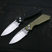 Protech Strider Side Open Auto Knife 단일 액션 D2 블레이드 사냥 주머니 나이프 접이식 낚시 자체 방어 칼 19012