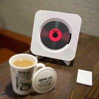 Игрок портативный CD настенный монтируемый Bluetooth Boombox Home Office Audio с дистанционным управлением