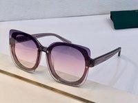 جديد 5886 نظارات للتصميم المرأة الشعبية ساحة بدون إطار عارضة الأزياء UV400 حماية عدسة الصيف نمط أعلى جودة تأتي مع القضية